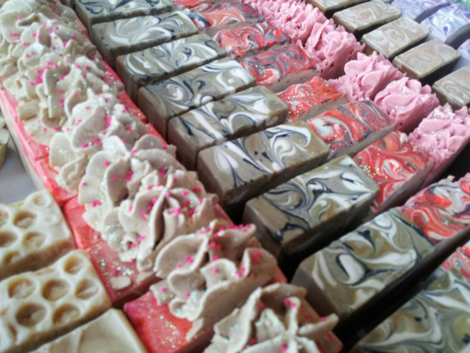 The Natural Cottage Goat Milk Soap, Body Frosting, Bath Bombs, Magnesium Lotion, Bath Truffles, Bubbling Beauties